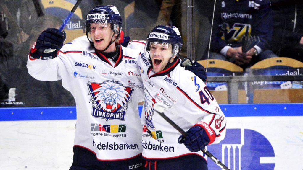 En jublande Pär Arlbrandt - ingen ovanlig syn under säsongen 2013/14.