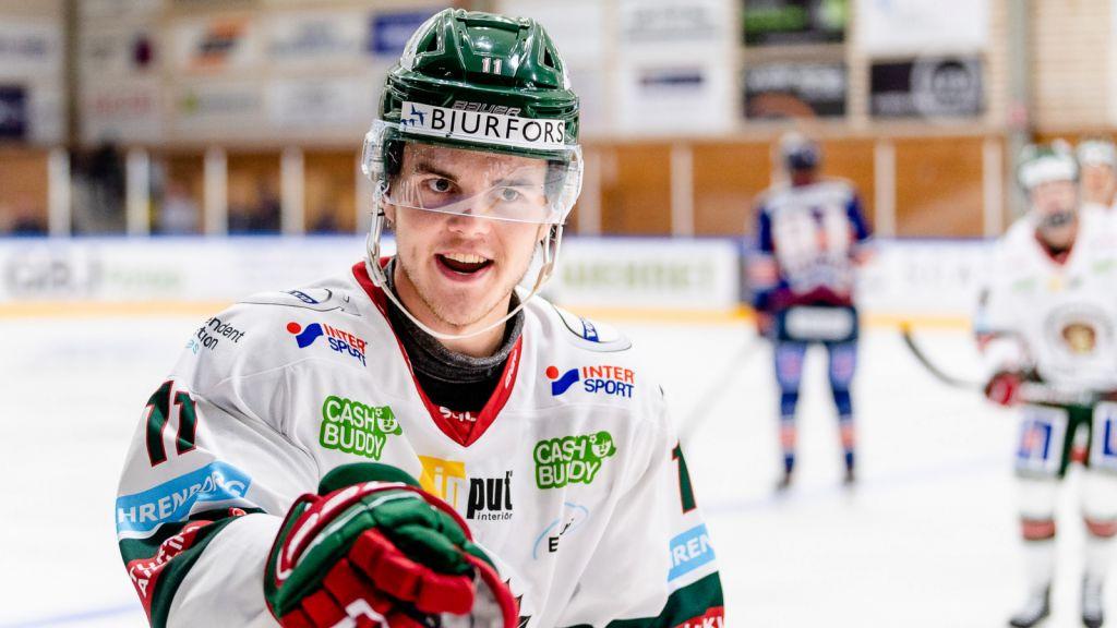 Frölundastjärnan siktar på NHL-spel till hösten