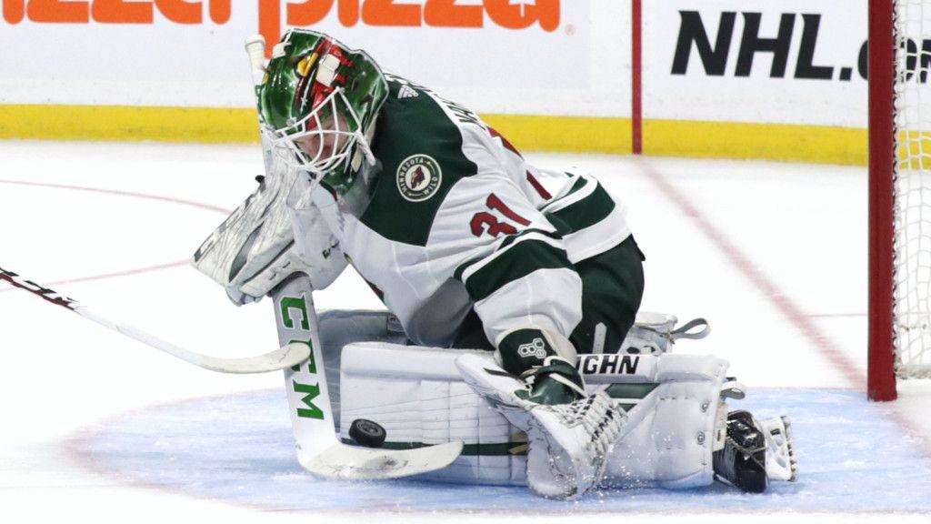 Målvakten nära att bli målskytt – i andra NHL-matchen