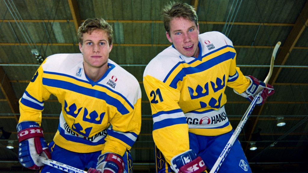 Markus Näslund och Peter Forsberg.