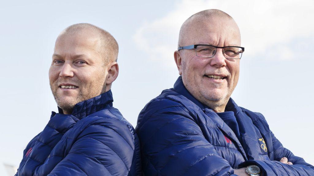 Niclas Högberg och Leif Boork inför OS i Sotji 2014.
