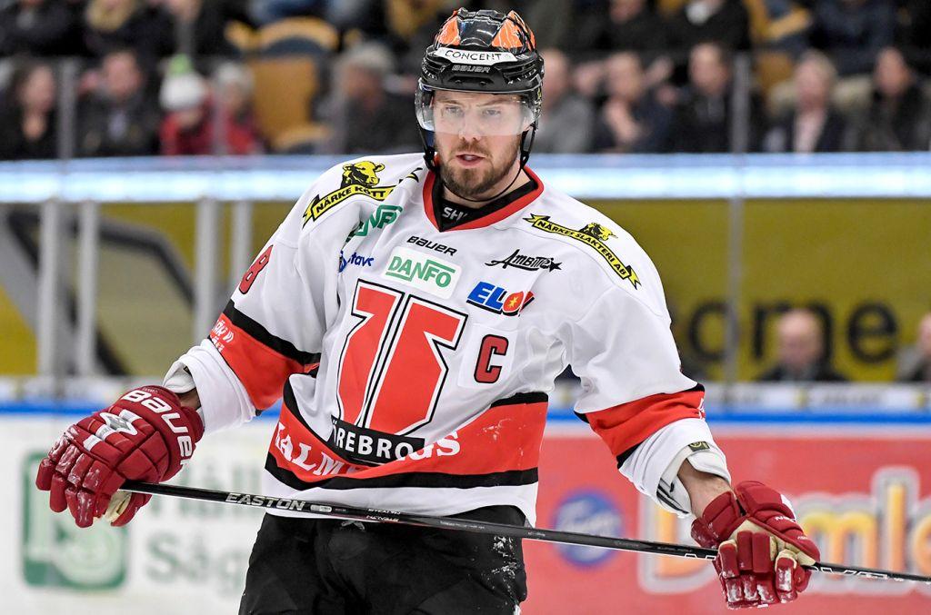 Förväntningarna var högt ställda på Grossmann som gick direkt från NHL till SHL.