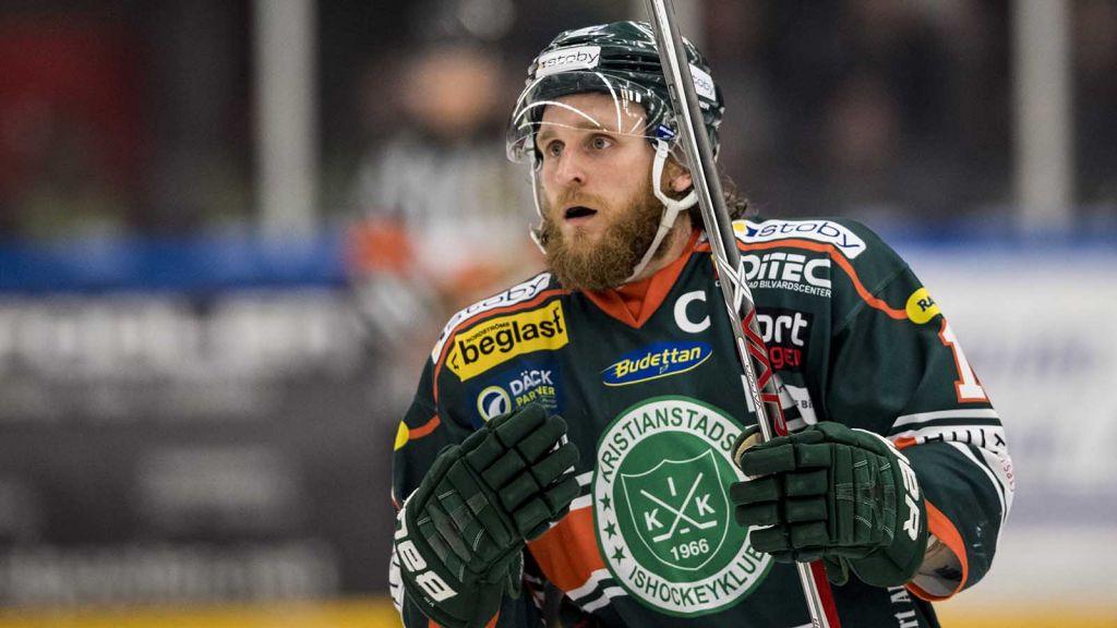 Fredrik Hansson fick i våras äntligen ta klivet upp med Kristianstad.