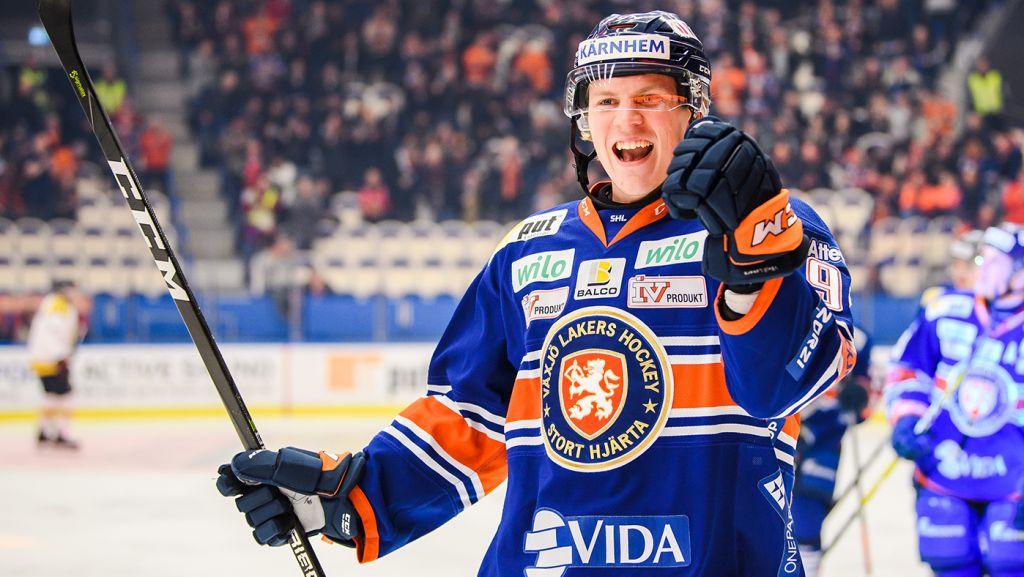 """Succébacken gör NHL-debut: """"En dröm som blir verklighet"""" - Hockeysverige"""
