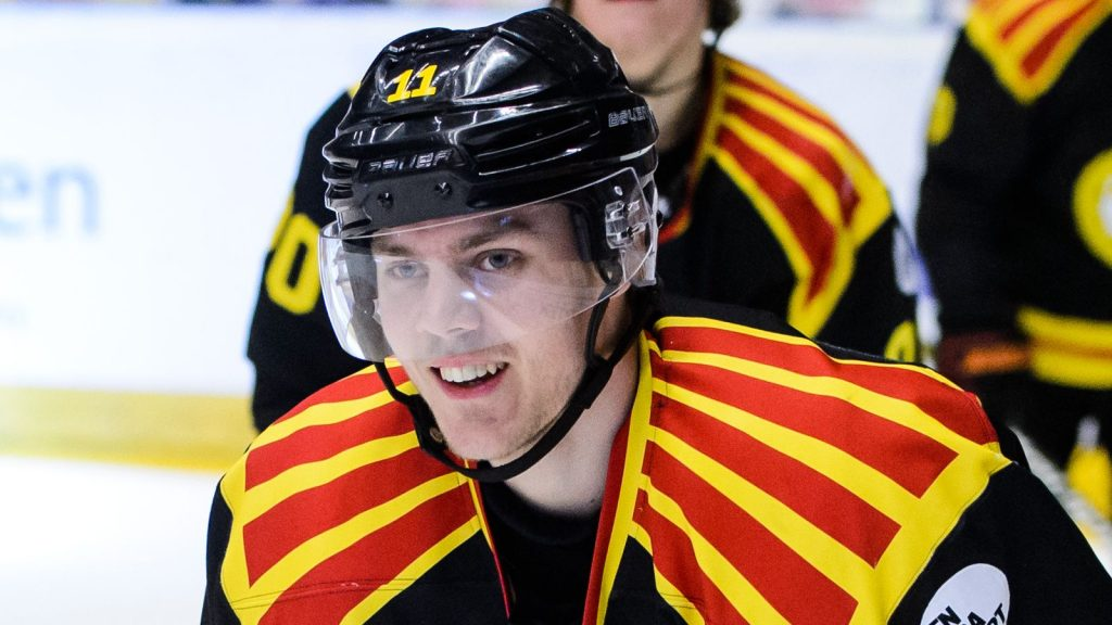 Första AHL-målet för tidigare Brynässtjärnan