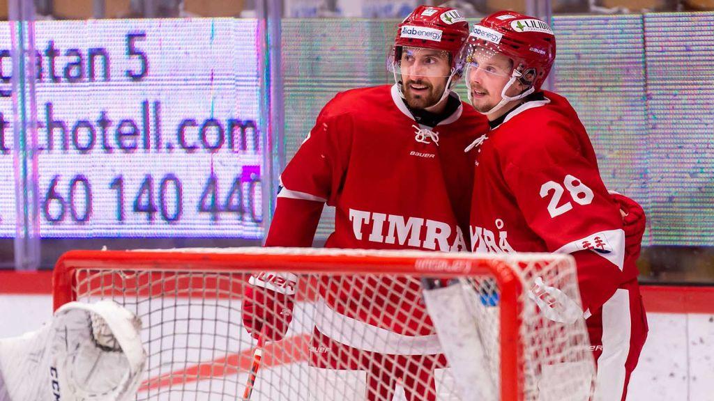 Ett vasst radarpar. Albin Lundin och Jonathan Dahlén.