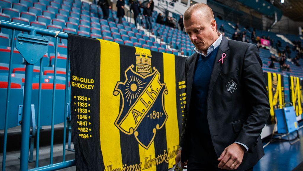 Efter nya bottennappet – kliver av som AIK-tränare