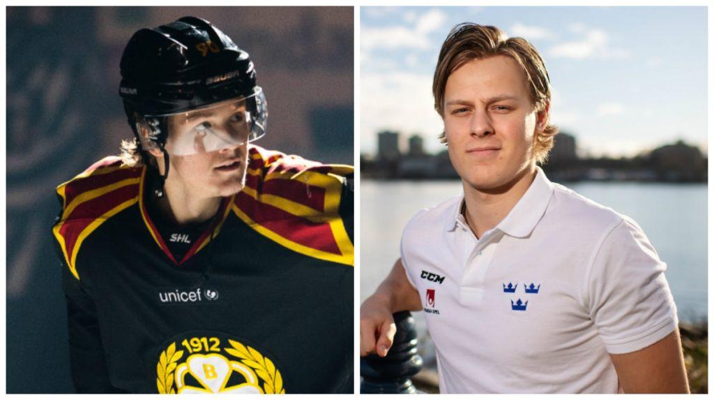 Bröderna Boqvist inbjudna till rookie-event