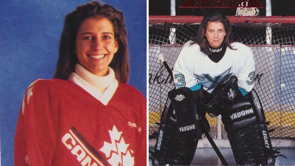 Blev historisk i NHL – nu hedras hon med en staty