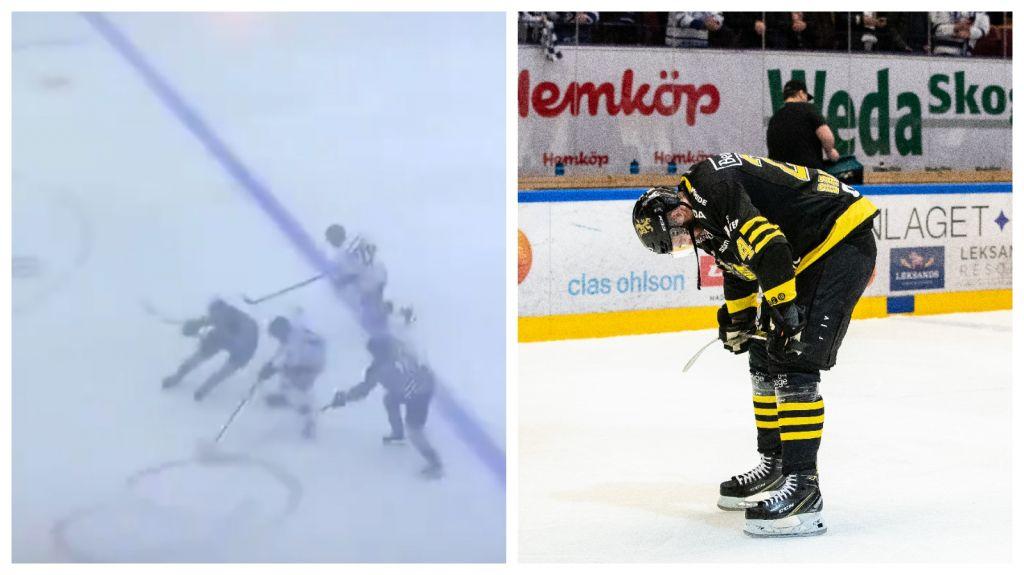 Sänker LHC-spelaren - matchstraff på AIK-kaptenen