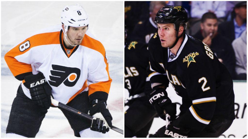 Det blev snabba ryck för Grossmann när han skickades från Stars till Flyers.