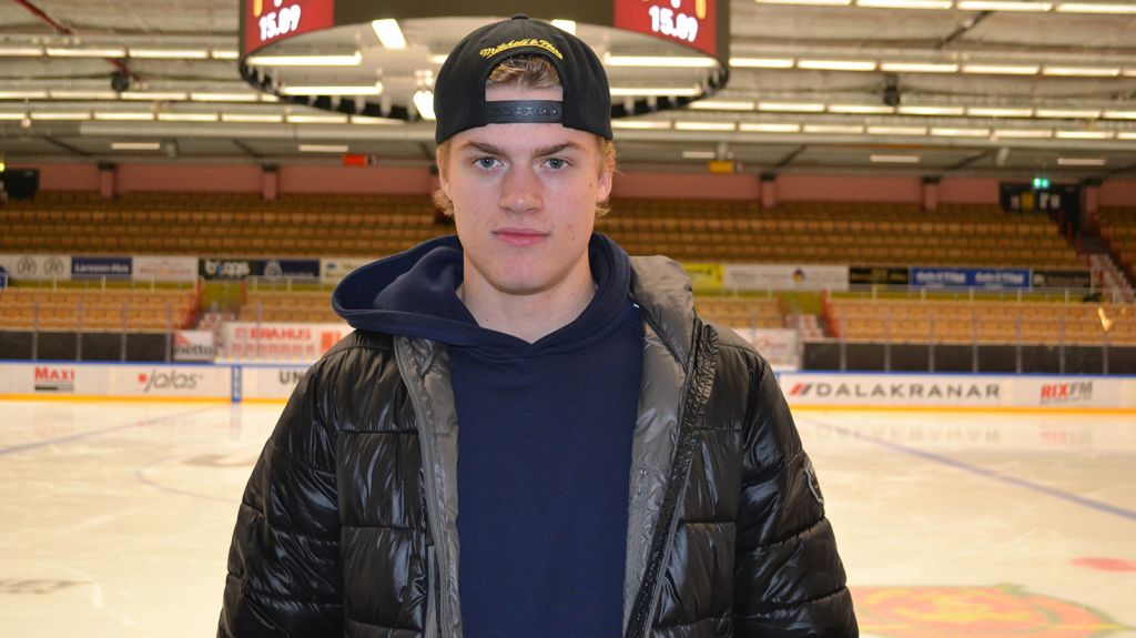 Det var inte alltid självklart att det skulle bli ishockey för Garfvé.