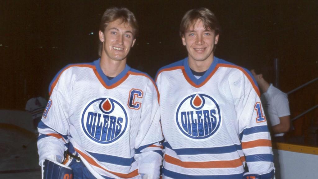 Wayne Gretzky och Jari Kurri när det begav sig.