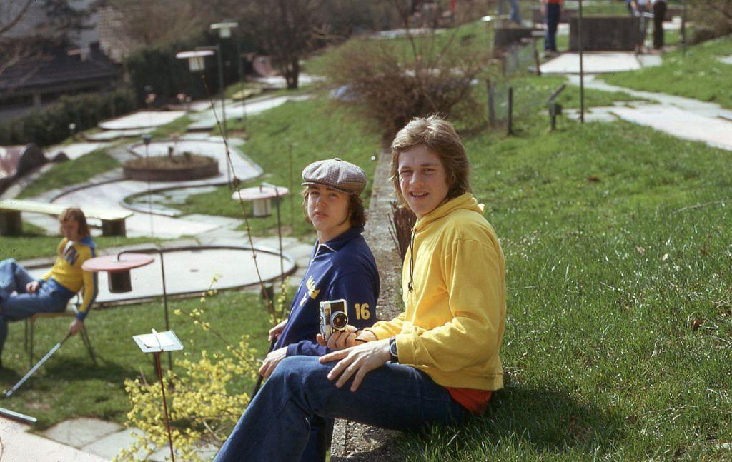 Kenta Nilsson och Bosse Berglund.