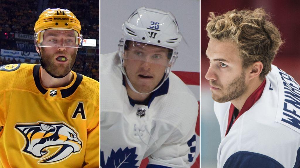 LISTA: Svenskarna som är kvar i NHL efter första gallringarna