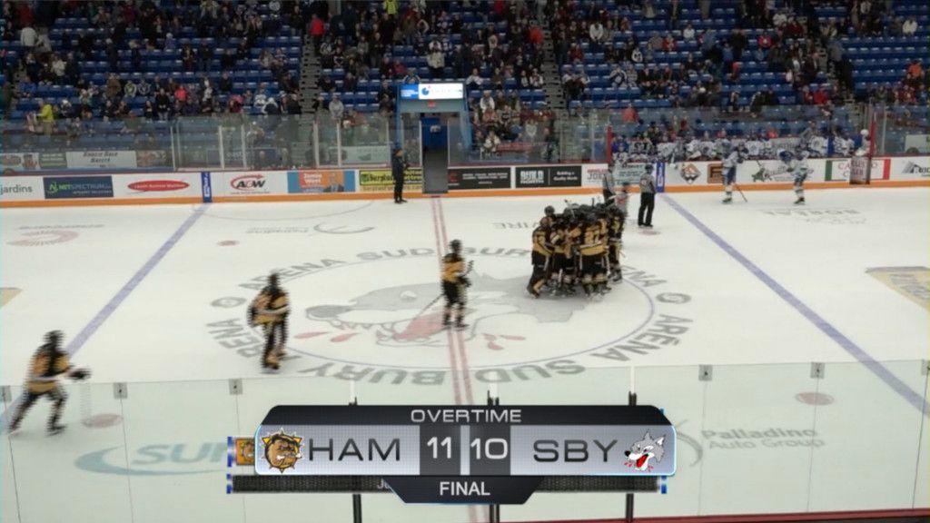 Galna matchen – 20 mål innan förre NHL-stjärnans son kunde avgöra
