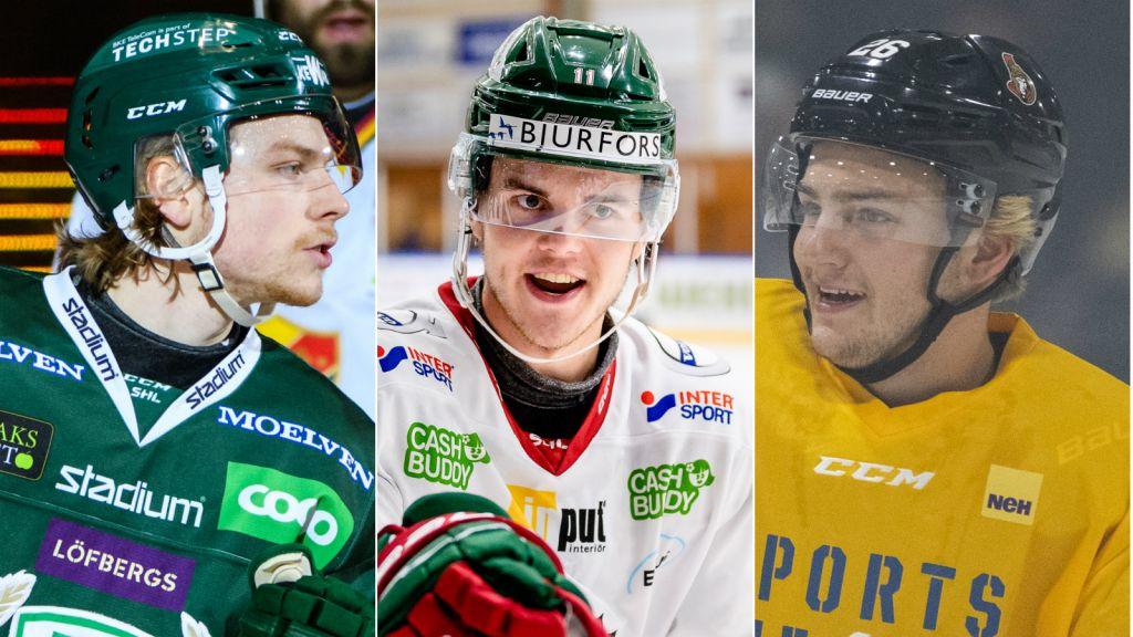 Här är alla svenskar på NHL-klubbarnas rookieläger