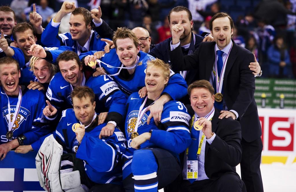 Ishockey, VM, final, Sverige - Finland