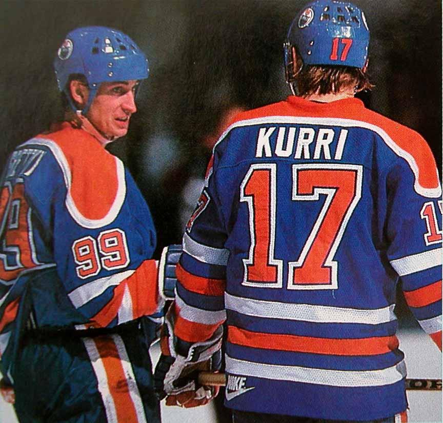 Jari Kurri Gretzky