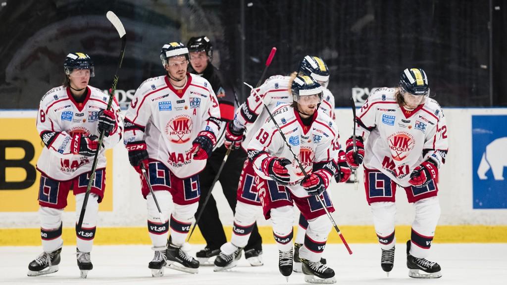Ishockey, Hockeyallsvenskan, AIK - VŠstervik