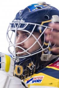161214 SšdertŠljes mŒlvakt Alexander Sahlin under ishockeymatchen i Hockeyallsvenskan mellan Tingsryd och SšdertŠlje den 14 december 2016 i Tingsryd. Foto: Jonas Ljungdahl / BILDBYRN / Kod JO / Cop 144