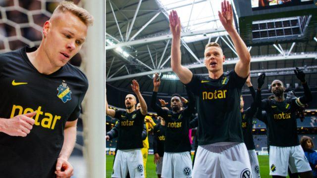 """PÅ FD: Sigthorsson vill visa sitt värde för AIK: """"Första målet kommer"""""""