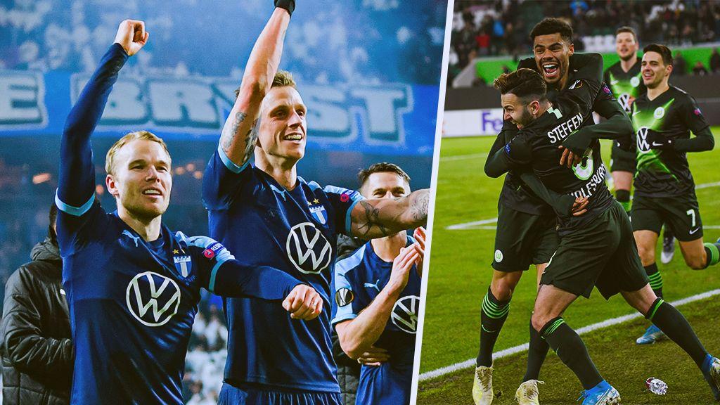 Tyskt motstånd för Malmö i Europa League-slutspelet