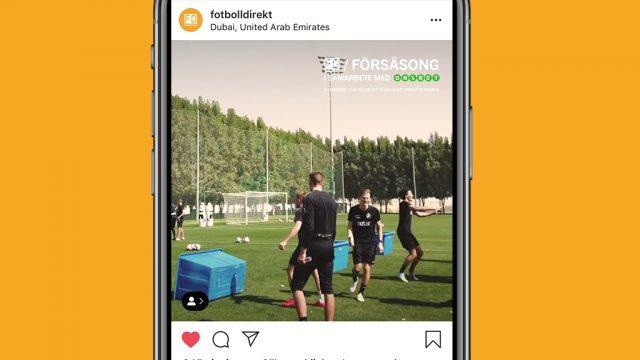"""FD INSTAGRAM – Seb Larsson """"röjer"""" på träning – vattenbaljan åt helvete"""