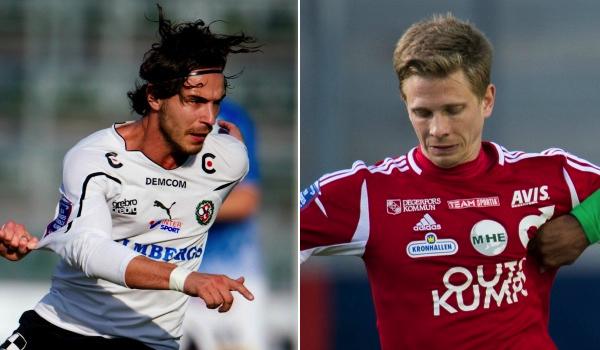Två nyckelspelare på söndagen blir Nordin Gerzic för ÖSK och målfarlige Johan Bertilsson för Degerfors.