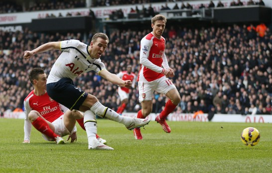 Fotboll, Premier League, Tottenham Hotspur - Arsenal