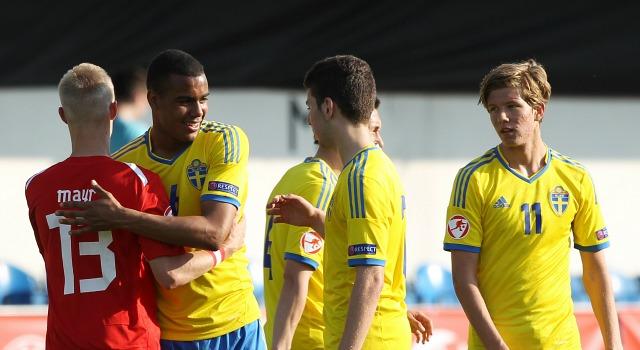 Noah Sonko Sundberg och Anton Salétros - de första från AIK:s akademi att komma upp i a-laget.